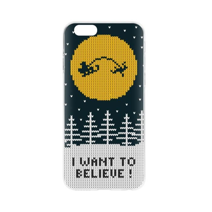 FLAVR Coque Case Ugly Xmas Sweater Believe - Iphone 6 / 6s