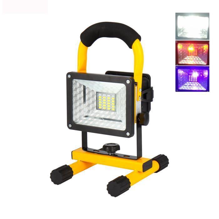 Batteries Projecteur De Extérieur Modes Lampe Spot Portable Jardin 3 Inclus 30w 18650Non Rechargeable Led Ip65 Étanche lT13KFJc