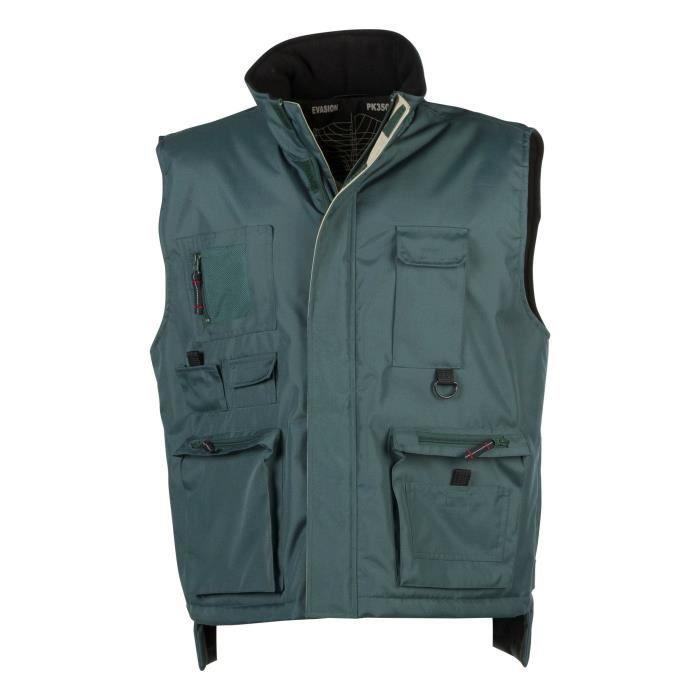 Penduick Bodywarmer Evasion Vente Vert Blouson Achat Rq5v5x