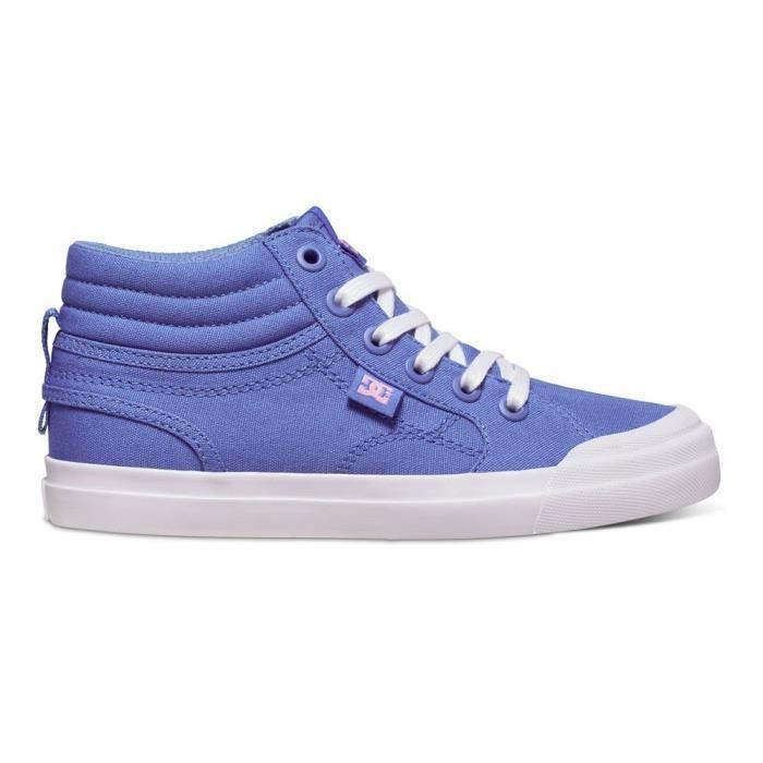 Chaussures DC Evan Hi Tx Blue White uDdQiY