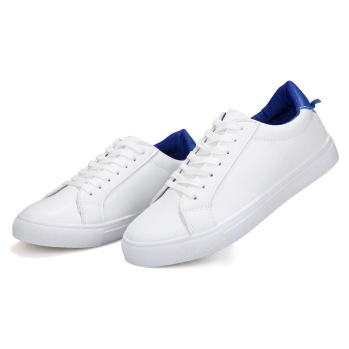 Baskets ®KIANII Homme Blanches Casual Chaussures qEwUn6xRC