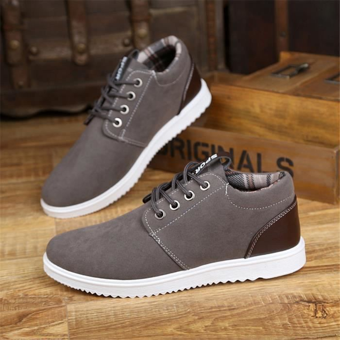 le dernier 25bb1 21e27 Sneaker homme Marque De Luxe Beau Chaussures pour hommes Haut qualité Mode  chaussure plates Antidérapant résistantes à l'usure