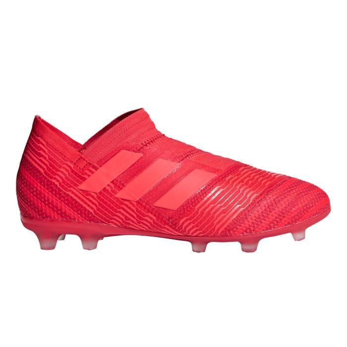 newest collection 3ac32 09f46 Chaussures football Chaussure de Football adidas Nemeziz 17+ 360 Agility FG  Rouge Junior