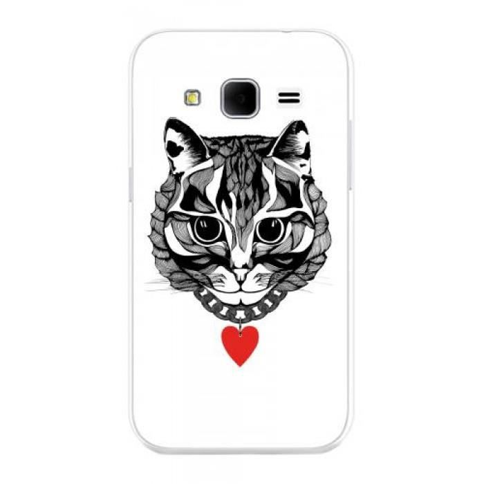 coque samsung galaxy core chat