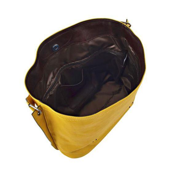 LONGCHAMP sac femme porté épaule en cuir MIMOSA