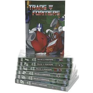 DVD DESSIN ANIMÉ COFFRET 6 DVD TRANSFORMERS, Partie 1