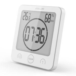 HORLOGE - PENDULE Aihontai® Hygromètre thermomètre étanche avec écra