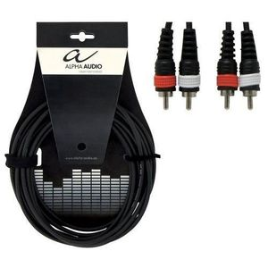 CÂBLES - JACK Alpha Audio 190190 Basic Line Câble pour Instrumen