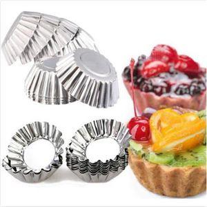 MOULE  10pcs Moule à Tarte Gâteau Aluminium Cookie Moules