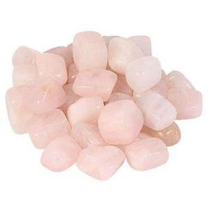 PACK OBJETS DE DÉCO Lot de 8 pierres de quartz rose