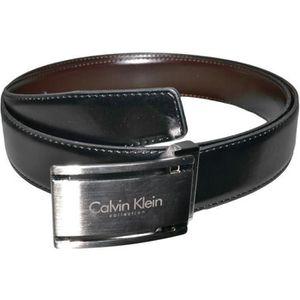 47b9d8ef79b6 CEINTURE ET BOUCLE Calvin Klein - Ceinture - D22 - Homme - Cuir - Noi