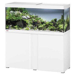 Aquarium Avec Meuble Blanc Laque Australianbusinesssuccess