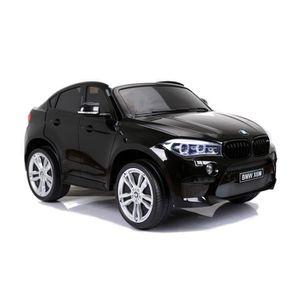 VOITURE ELECTRIQUE ENFANT BMW X6 M Voiture electrique enfant 2 places Noir -