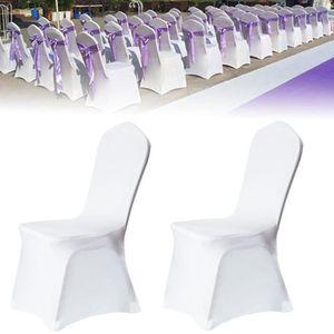 HOUSSE DE CHAISE 100 Housse de chaise mariage/revêtement housse/rev