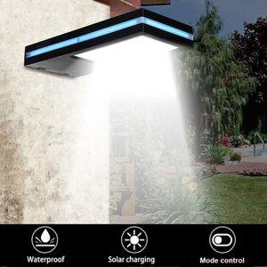 APPLIQUE EXTÉRIEURE NEUFU 144 LED Applique exterieure solaire détecteu