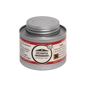 ETHANOL Combustible liquide OLYMPIA pour chafing dish 2h -