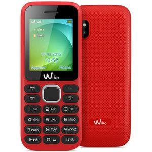 Comparer WIKO LUBIPLUS ROUGE