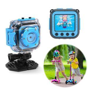 PACK CAMERA NUMERIQUE Amkov Caméra d'action d'enfants,mini caméscope imp