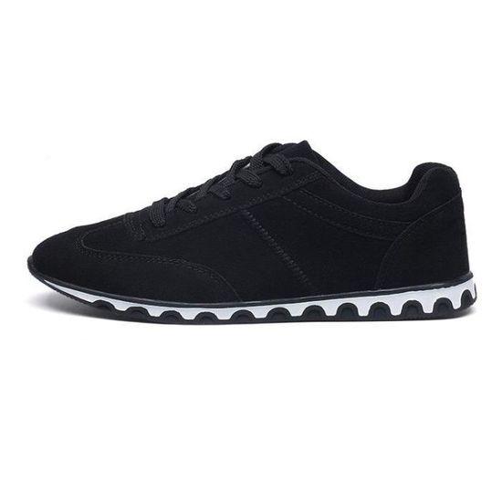 Chaussure De Trail Meilleure Absorption Des Chocs Plus Taille Flexibilité Loisir Homme Noir 43 R96220301_M29 Noir Noir - Achat / Vente basket