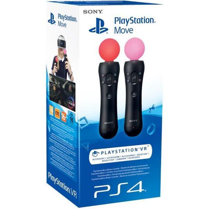 Paire Manette de détection de mouvements PlayStation Move pour PlayStation VR