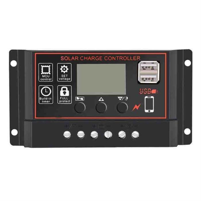 Régulateur de charge de batterie de contrôleur de panneau solaire ... f77d5a734d3b