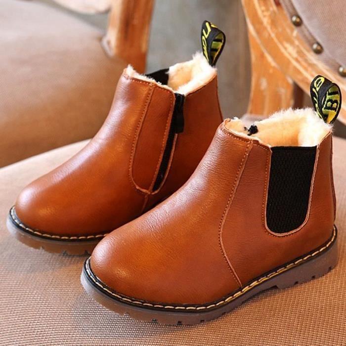 6309c7fc5c0fc EUR 27 Hiver Enfants enfants Martin Bottes Neige Bébé Chaussures ...