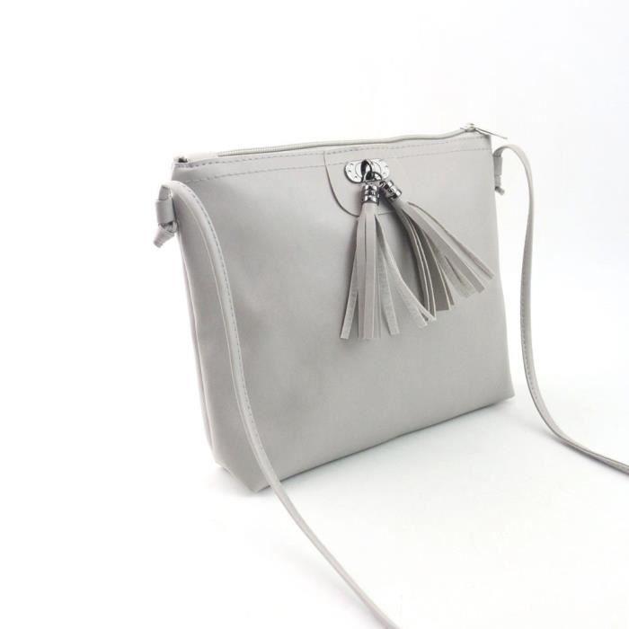 SAC À MAIN Mini sac à main Femmes Mode Tassel Sac à bandouliè