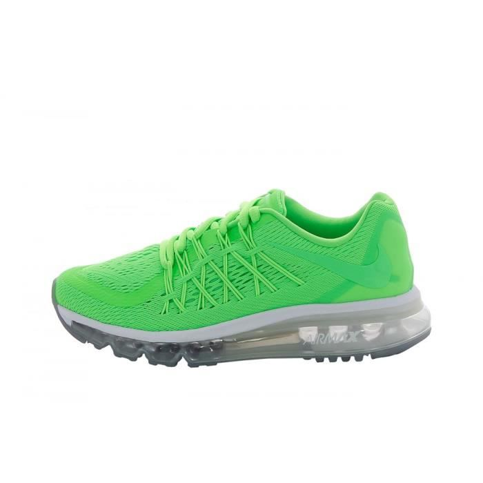 finest selection 931ad 14d03 Basket Nike Air Max 2015 (GS) - 705457-300 Vert Vert - Achat / Vente ...