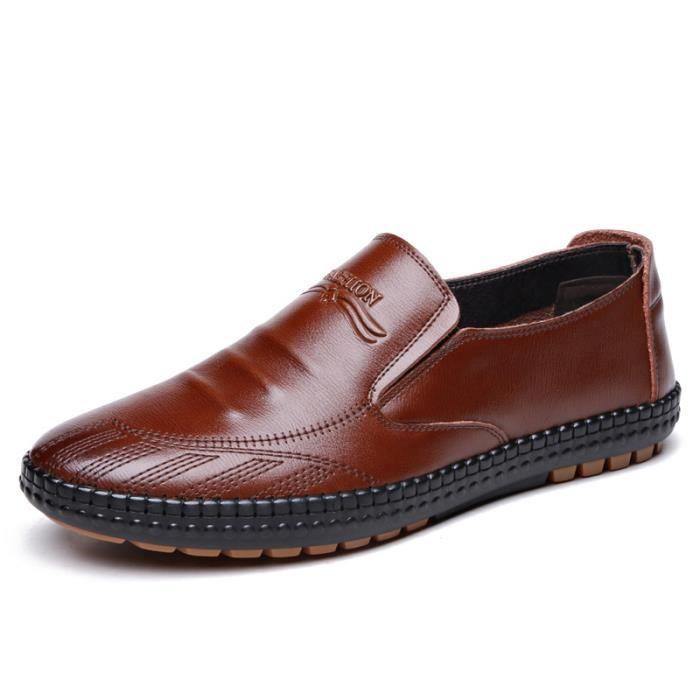 IZTPSERG Chaussure Mocassins homme