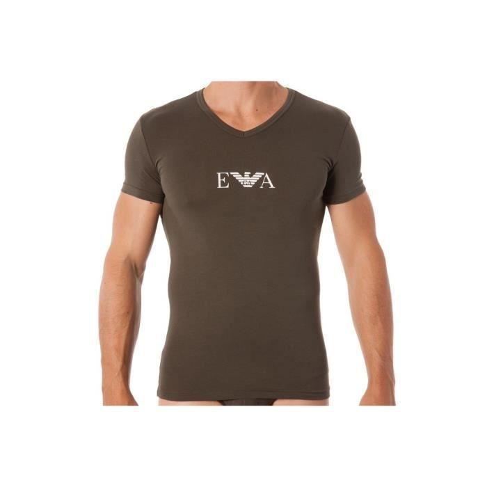 Tee-shirt EA7 Emporio Armani V-Neck - Ref. 110810-7A715-07581 Vert ... 2e9d35680ea