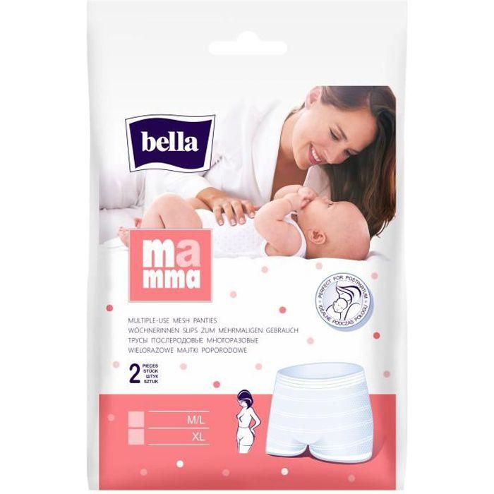 SLIP JETABLE  BELLA 2 Slips de Maternité Taille Extra Large