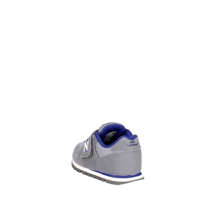 New Balance Sneakers Garçon Gris/Bleu, 26
