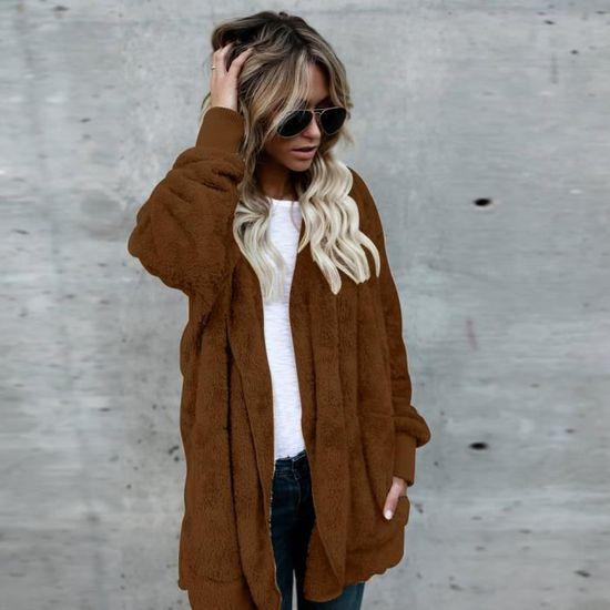 Outwear Capuche Femme Long À Marron Manteau Lzp71102141bw Manteaux Parka YTawnq