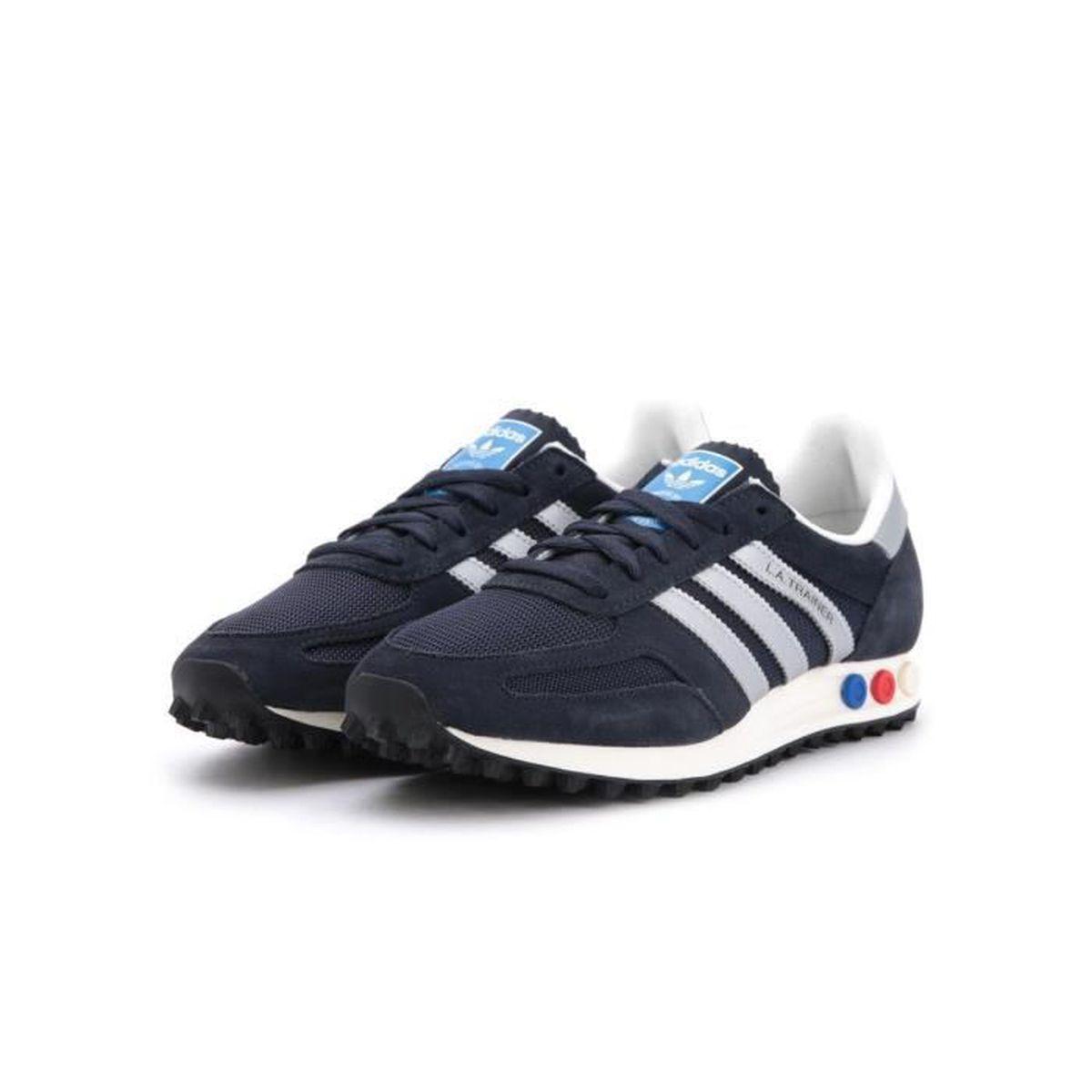 Adidas Originals LA Trainer OG Hommes Sneaker Gris S79943 Gris Gris - Achat / Vente basket  - Soldes* dès le 27 juin ! Cdiscount