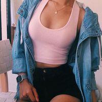 CHEMISIER - BLOUSE Chemises courtes femme Tops sans manches décontrac