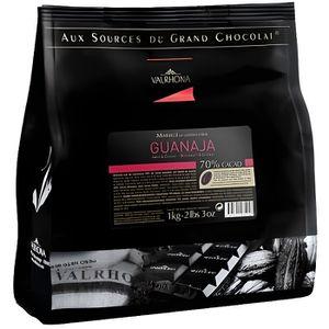 CHOCOLAT EN TABLETTE Chocolat Guanaja 1kg en pistoles VALRHONA
