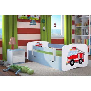 lit enfant pompier achat vente pas cher. Black Bedroom Furniture Sets. Home Design Ideas