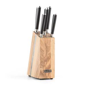 COUTEAU DE CUISINE  Klarstein Katana 6 Set de couteaux de cuisine 5 pi