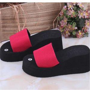 sandales pour la plage Meilleure Qualité pantoufles hommes chaussure homme marque de luxe Nouvelle Mode pantou dssx119marron38 N6hbA