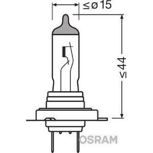 AMPOULE TABLEAU BORD OSRAM Lampe de phare halogène Cool Blue Intense H7