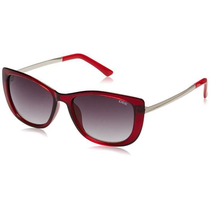 Gradient Square Sunglasses - (ids2119c3sg|55|smoke Gradient Color) PY9Z0