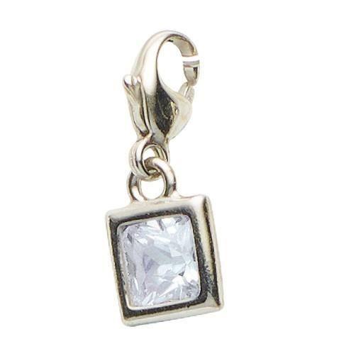 Basic Silber - Basique Argent 22.VX093.W Femmes Charms Argent ZirconiaRéf 43510