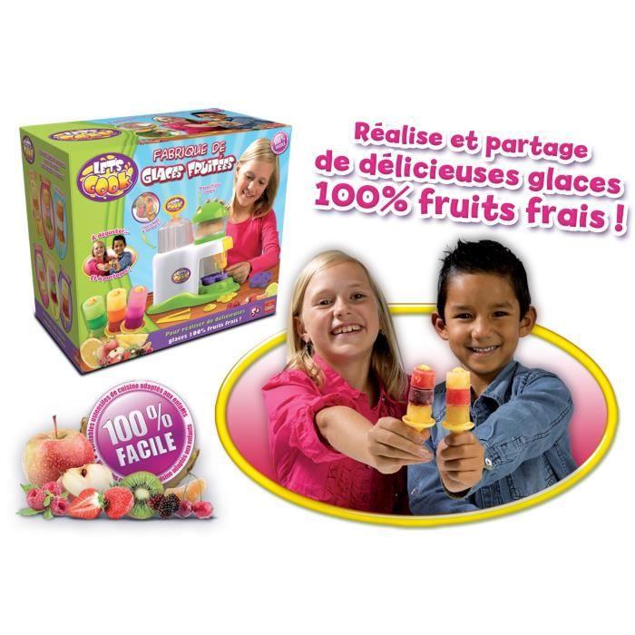 DINETTE - CUISINE Goliath - Kids Cook Fabrique de glaces fruitées