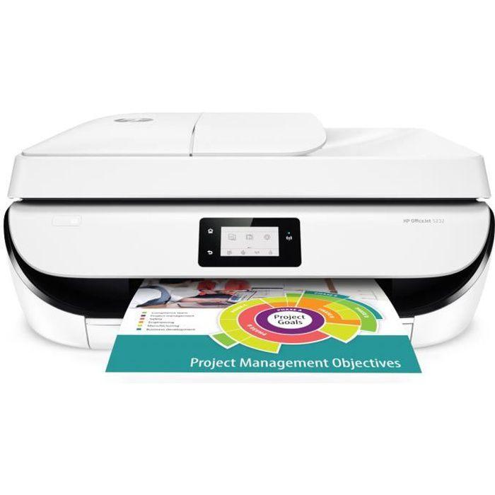 IMPRIMANTE HP Imprimante Tout en un Officejet 5232 - Multifon