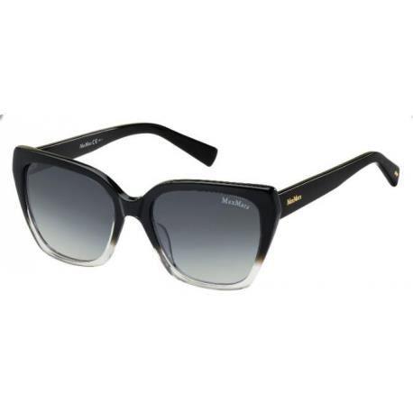 Achetez Lunettes de soleil Max Mara femme MM SHADED I FS2 (HD) grises noires 4da8840305f0