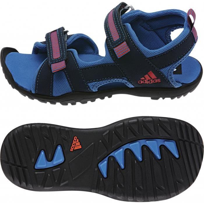 adidas Sandplay OD - Tongs Enfant - bleu/noir