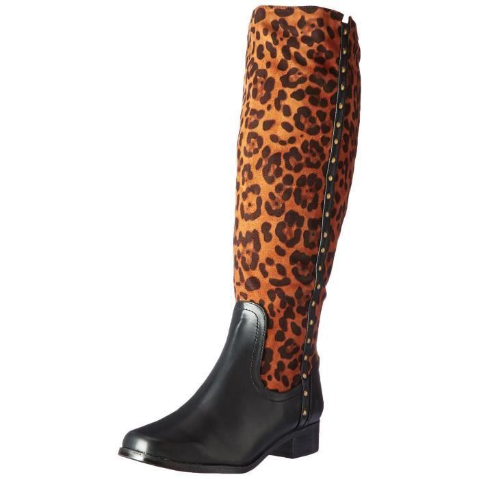 Chaussures mobile large Calf Bottes d'équitation U1KB3 Taille-38
