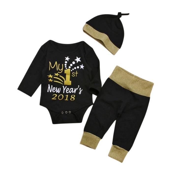 ba4228e729baf Ensemble de vêtements Pyjama Body Bébé Fille 2018 Ma Première Nouvelle A