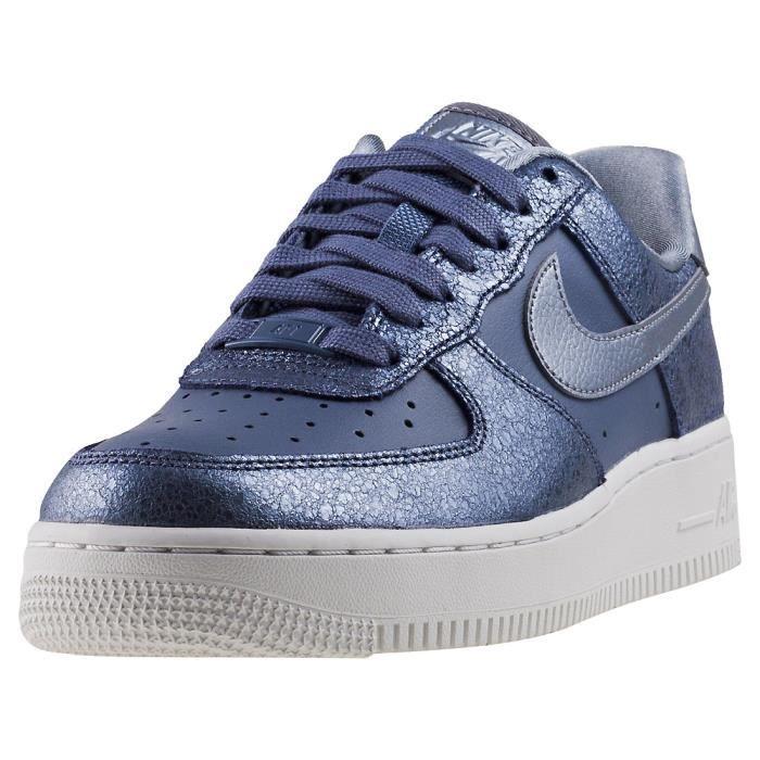 sélection premium 3a741 74384 Nike Air Force 1 07 Premium Femme Baskets Gris anthracite ...