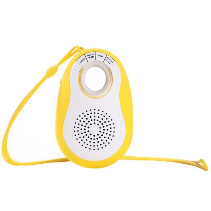 Sangle De Suspension Sans Fil Portable Bluetooth 4.0 Basse Audio Haut-parleur Sport En Plein Air Jaune